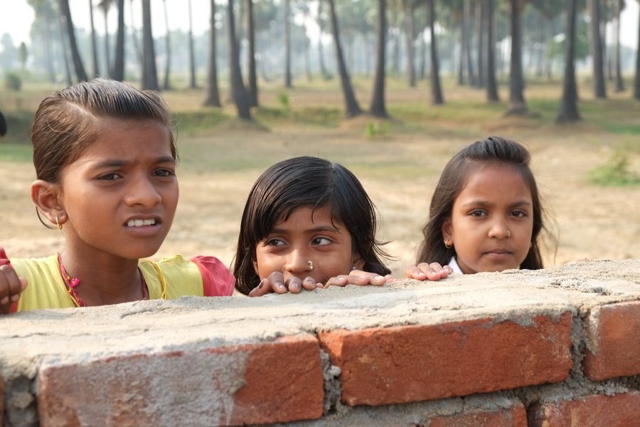 Indien, Schulbau, Bildung