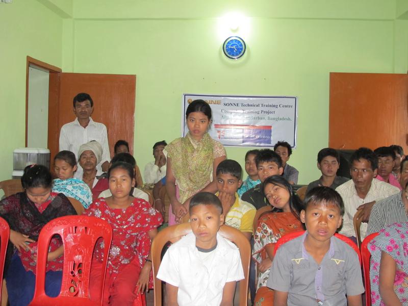 Patenkinderprojekt in Alikadam, Bangladesch