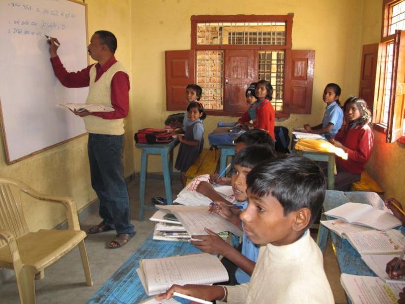 Lehrer, Indien