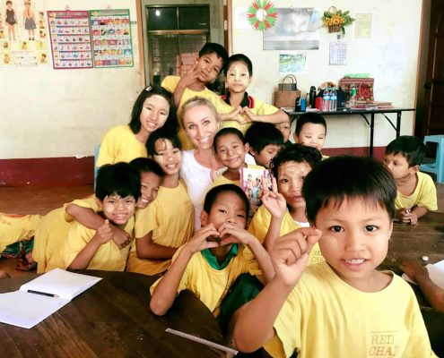 Volontariat Maria Myanmar