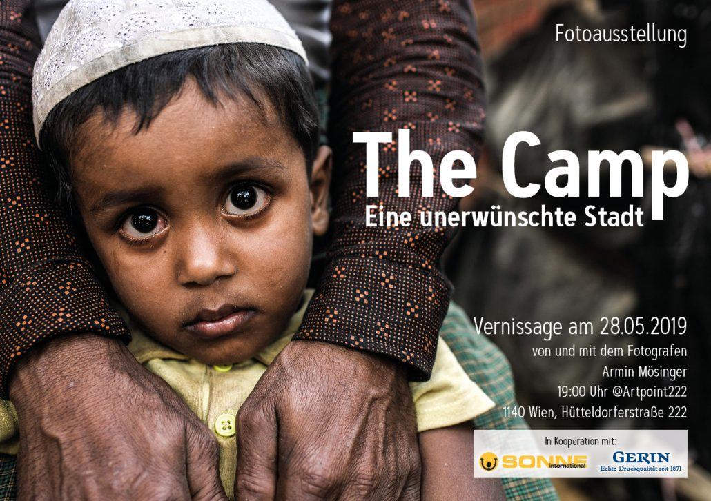 Einladung zur Vernissage THE CAMP