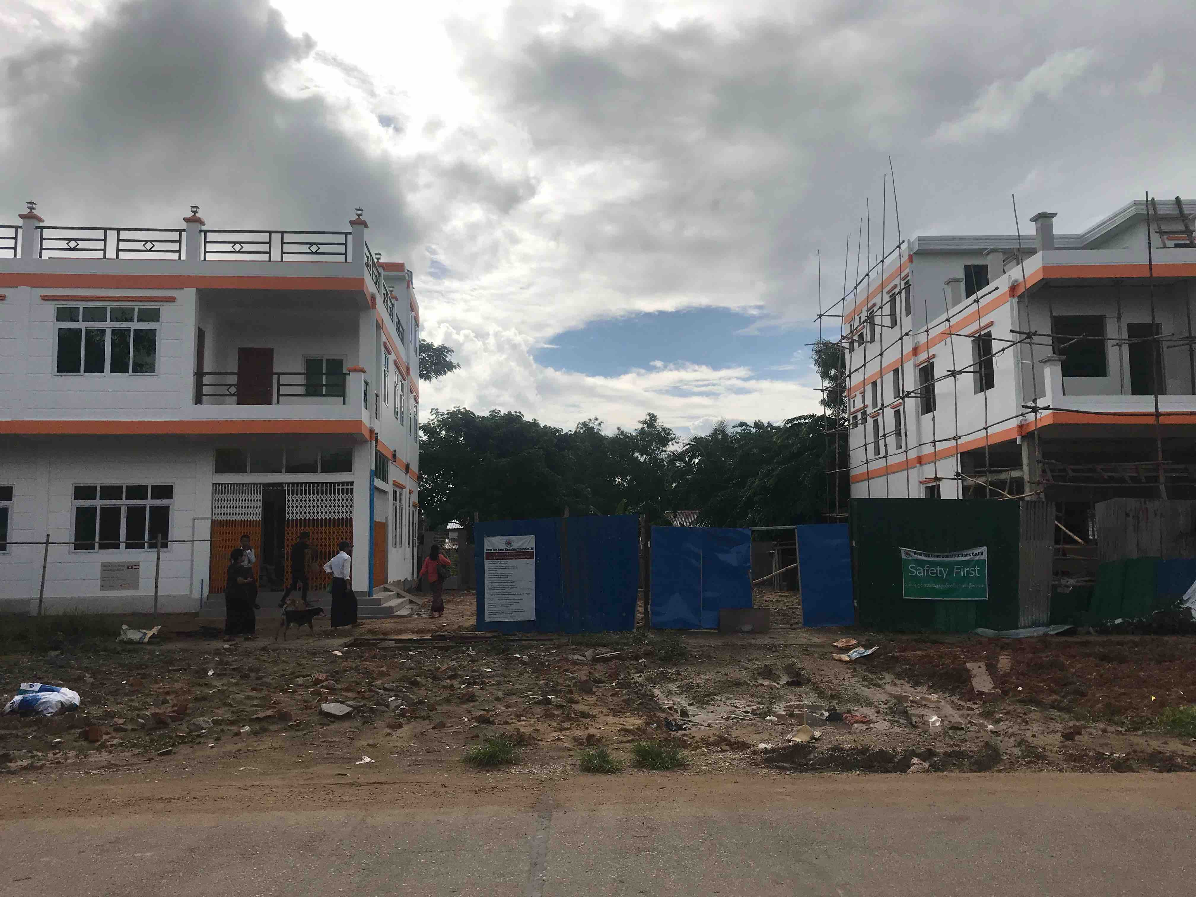 Baufortschritt_foerderzentrum_Myanmar