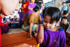 Gesundheit als Basis, nur gesunde Kinder können ihr volles Potential in einer der vielen SONNE-Schulen entfalten.