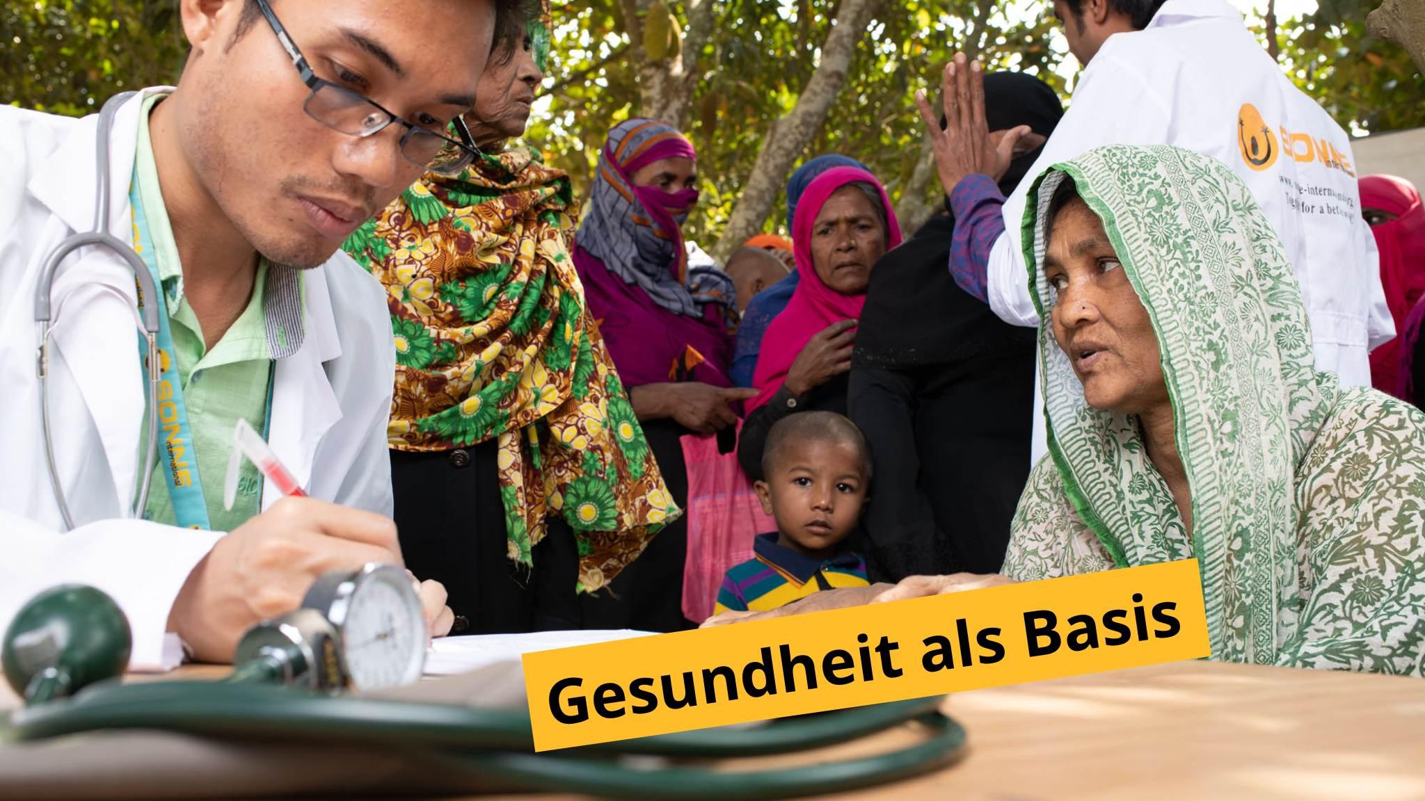 Gesundheit als Basis, SONNE-Gesundheitsprojekte gibt es in allen unseren Projektländern