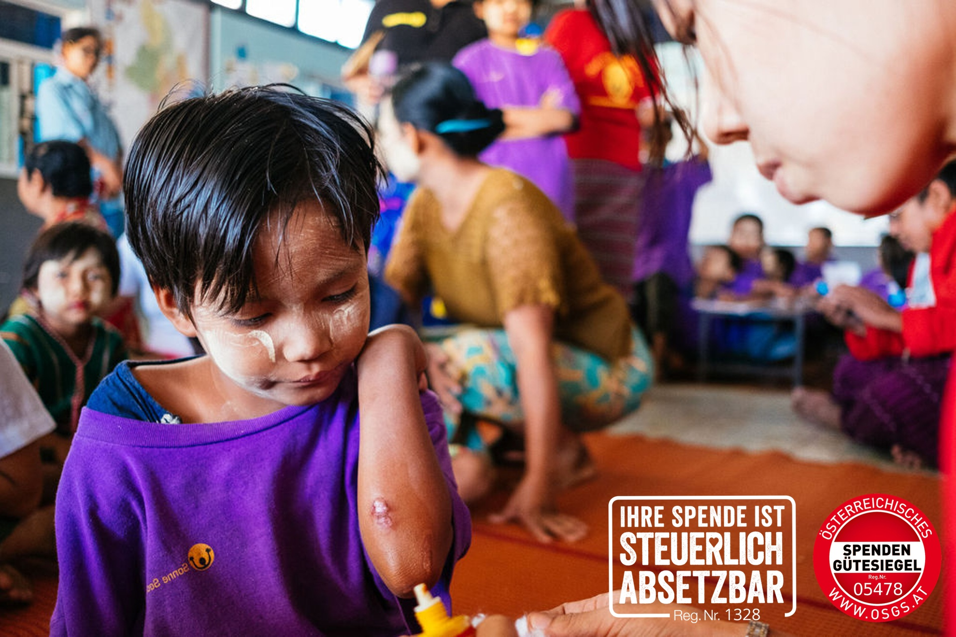 SONNE-International für Kinder in Myanmar