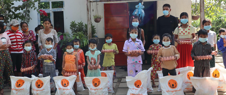 Myanmar Hilfe Februar 2021