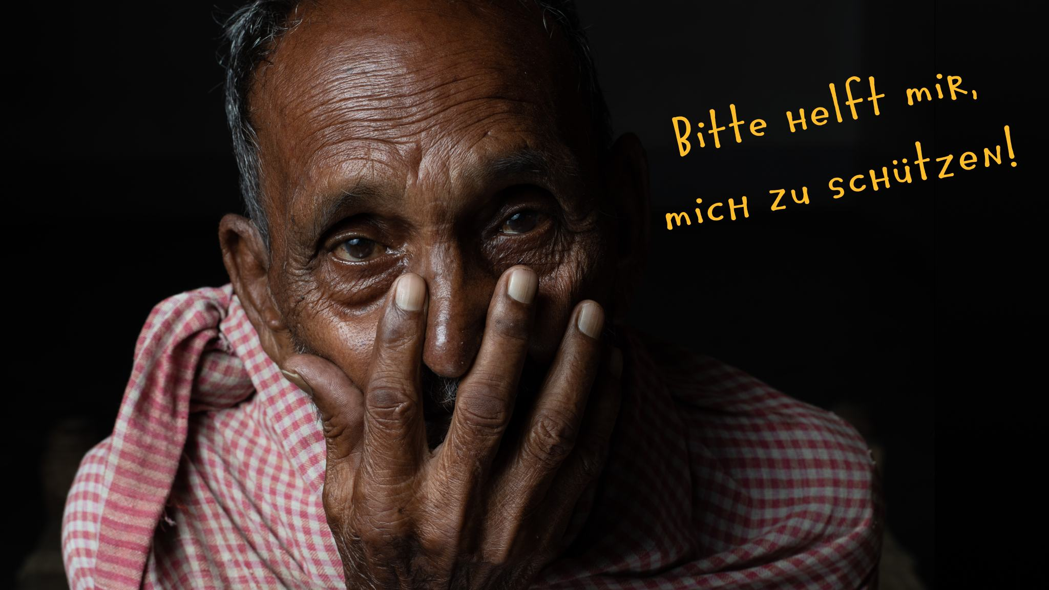Corona Katastrophe in Indien - Bitte helft mir mich zu schützen